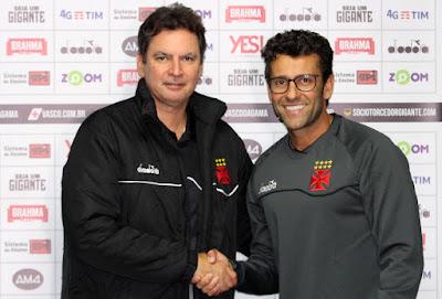 Alberto Valentim exalta oportunidade de comandar o Vasco e voltar ao Rio e2c6b8398a525