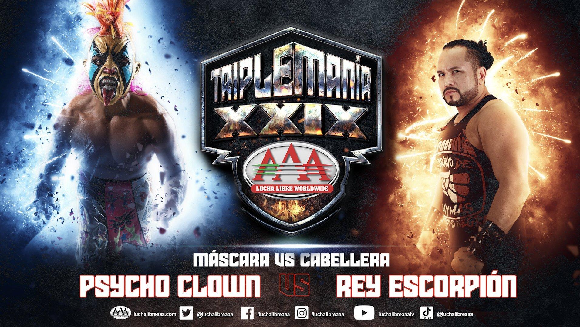 AAA Triplemania XXIX: Novos combates anunciados!