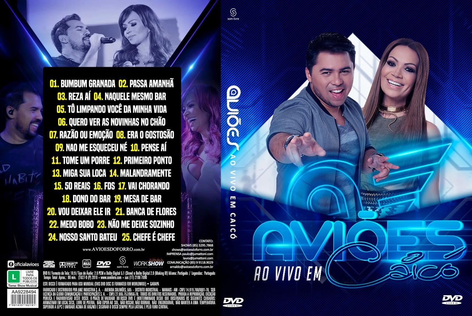 2011 DO FORRO BAIXAR AVIOES DVD AVI
