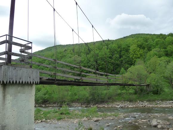 Красота Карпат. Поездка на трамвае. Подвесной мост через Мизунку