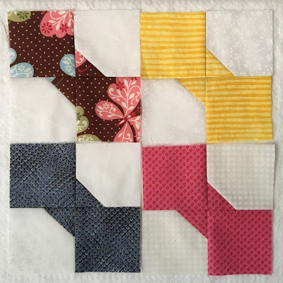bow tie quilt block scrap leader ender swap twilters