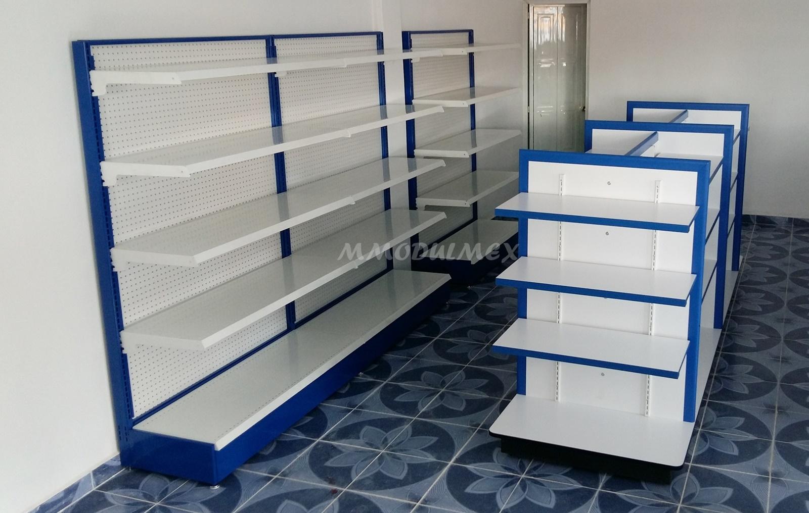 Estantes estanteria anaqueles repisas entrepa os - Como hacer estantes de madera ...