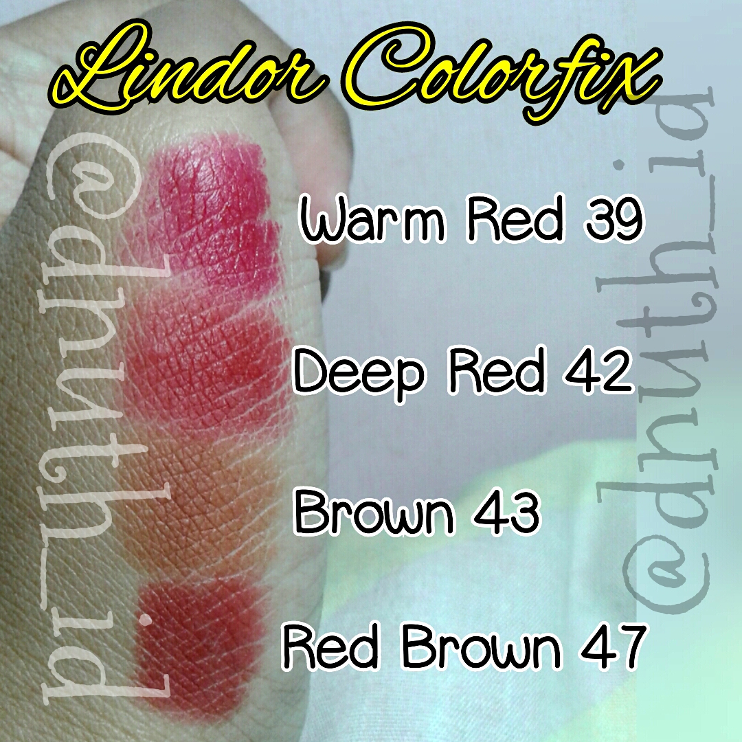 Jual Lipstik Lindor Welcome To Lipstick Color Fix Colorfix Matte