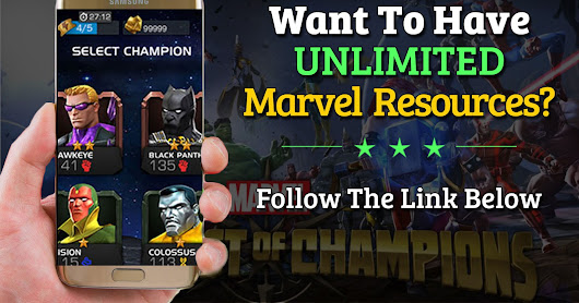 Marvel Contest Of Champions Hack - Online Cheat Tool For Android & iOS [Unlimited Resources]