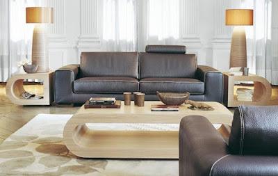 contoh desain interior ruang tamu menarik dan eksklusif