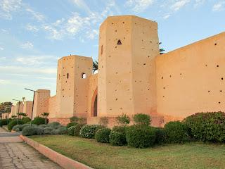 Muralla; Marrakech; مراكش; ⴰⵎⵓⵔⴰⴽⵓⵛ; Marruecos; Morocco; Maroc; المغرب