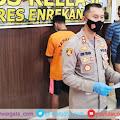 Kapolres, AKBP Andi Sinjaya Pimpin Press Release Tindak Pidana Perbuatan Cabul Terhadap Anak Dibawah Umur