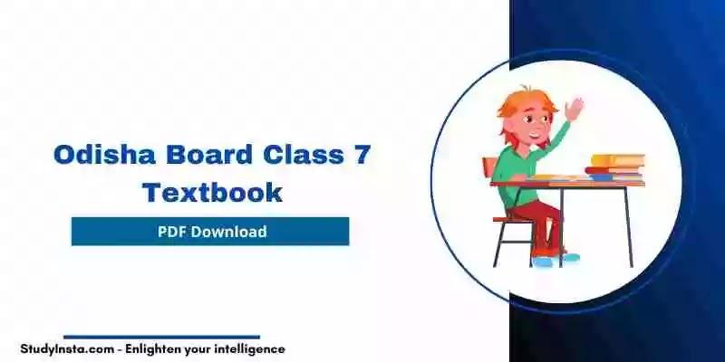 Odisha Board Class 7 Hindi Book PDF 2021