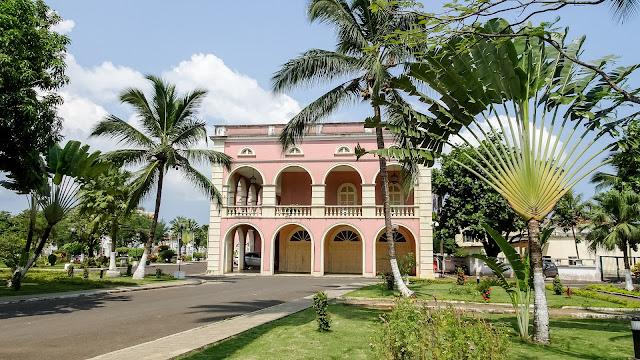 Palácio Presidencial in Sao Tome capital