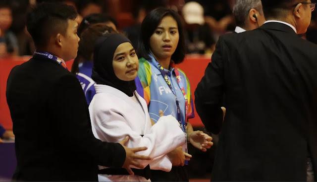 Alasan Luar Biasa Miftahul Jannah Ketika Menolak Lepas Hijab di Para Games