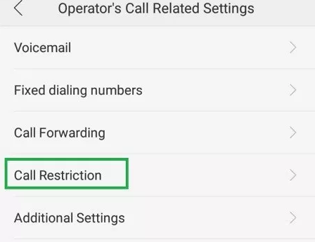 Cara Memblokir Panggilan Pada Oppo A37 - 5