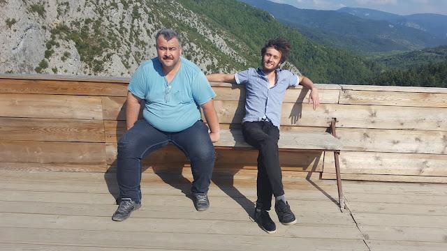 Harun İstenci Ömer Demir SMMM ile birlikte Kastamonu Küre Dağları Milli Parkı Valla Kanyonunda Seyir Terasında.