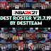 [LATEST UPDATE] NBA 2K21 DEST ROSTER V21.07.19 (July 19, 2021)  + 99  Teams (WITH FIBA TEAMS)  AIO by destteam