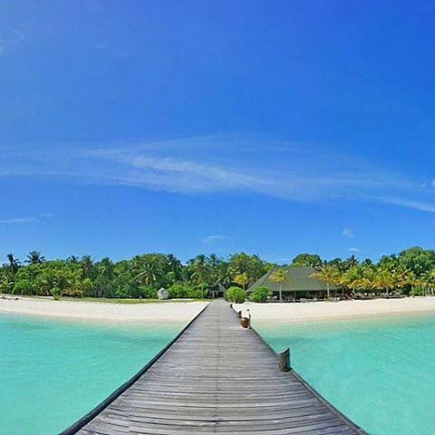 foto keindahan pantai di maladewa
