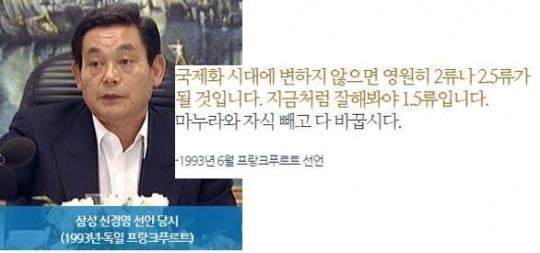 삼성 신경영 선언