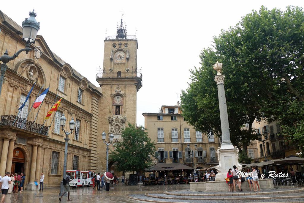 Plaza del Ayuntamiento, Aix en Provence