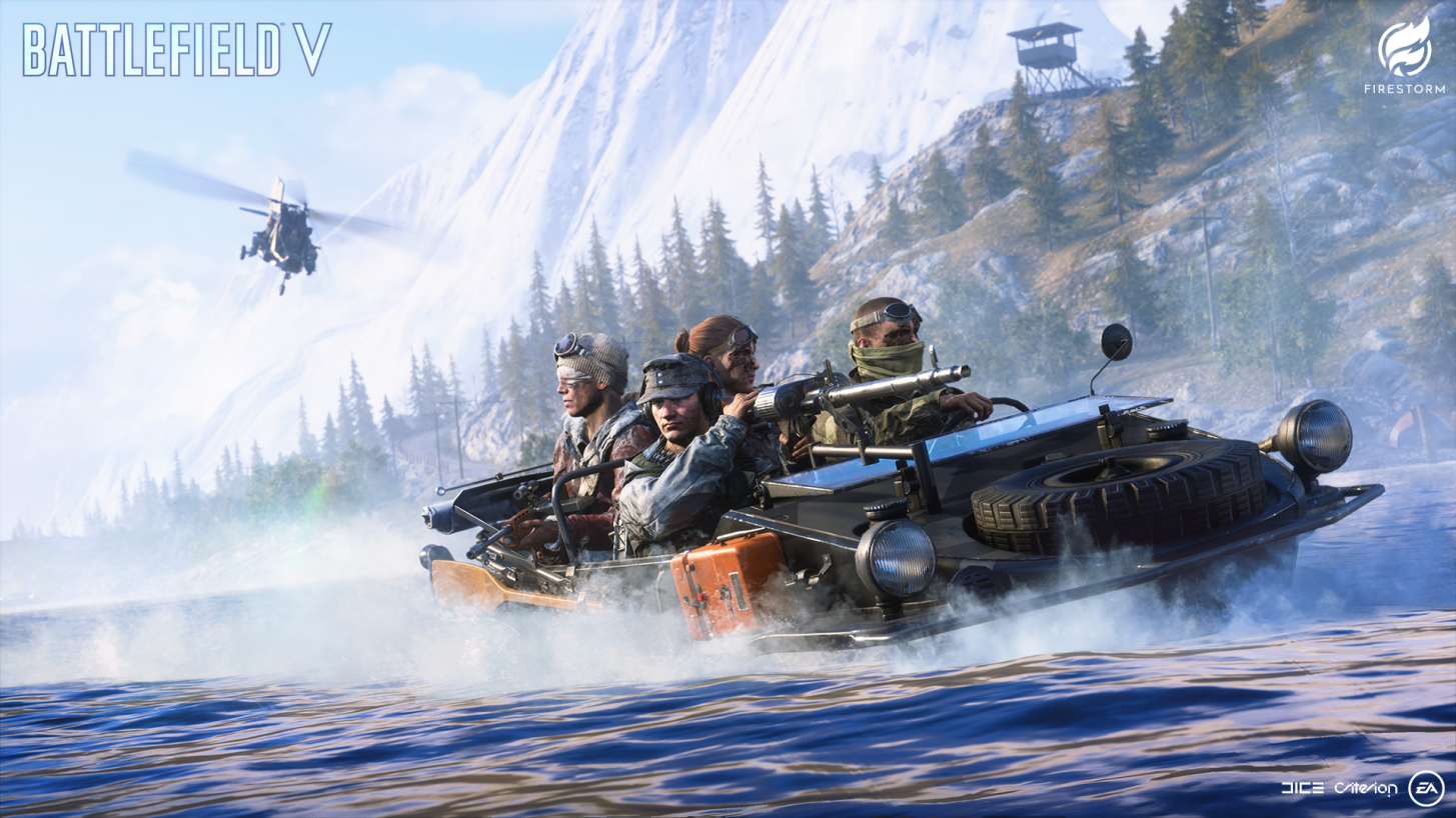 Battlefield V: Informe Semanal do Capítulo 3: Batismo de Fogo - Semana 2