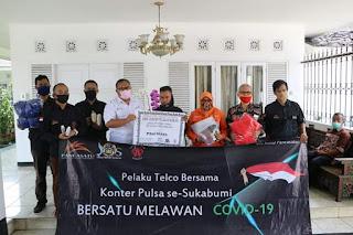 PT IP & Pancasatu Salurkan Bantuan Kepada Pemkab Sukabumi