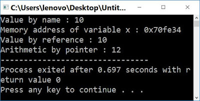 what is pointer in c++