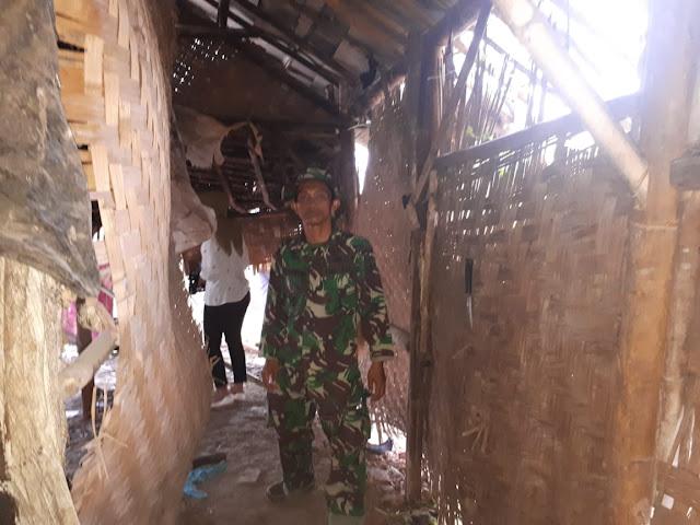 Saksikan Bedah Rumah Jamro, Tomas: TNI, Kami Sangat Berterima Kasih