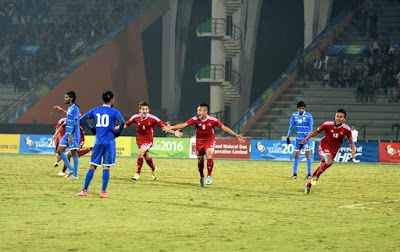nepal enters to finals of sag beats maldives 4-3