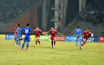 nepal enters to finals of sag beats maldives 4-3