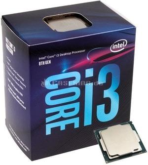 معالج Intel Core i3-8100