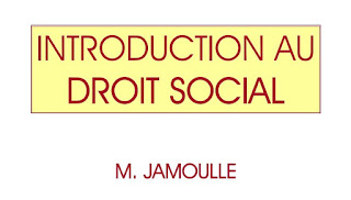 INTRODUCTION AU DROIT SOCIAL PDF