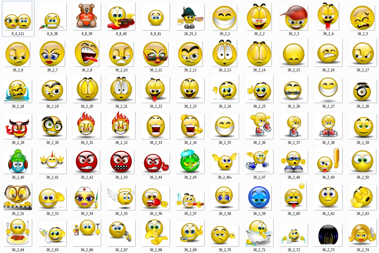 Image Gallery happy face keyboard symbols