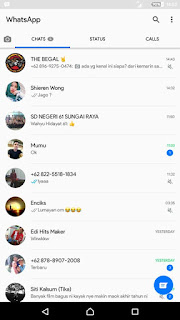WhatsApp White Official v2.17.351 by AAH Android