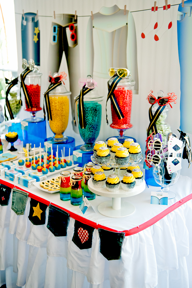 Kara S Party Ideas Denim Amp Sunglasses Party Kara S