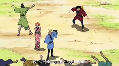 One Piece Episode Special 04: Episode Luffy Oyabun Subtitle Indonesia
