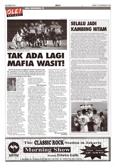 MAFIA WASIT LIGA INDONESIA