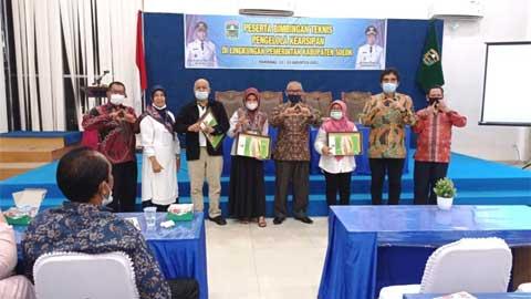 Dispersib Gelar Bimtek Kearsipan bagi OPD se-Kabupaten Solok