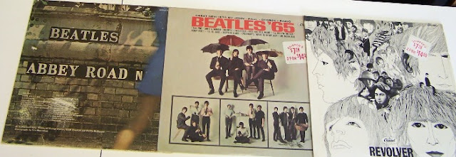 records, vinyl, beatles