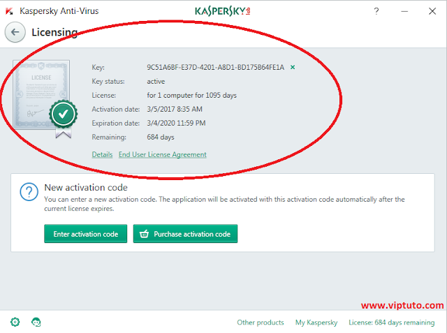 Download Kaspersky Antivirus 2018 License Key whit crack