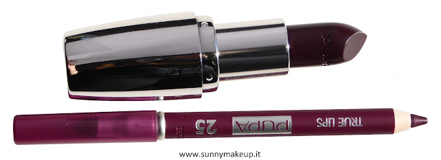 Pupa - Kit Miss Pupa. 416 – I'm Dark Plum + True Lips 25.