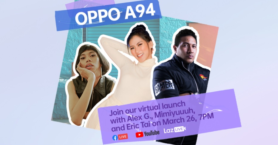 OPPO A94 Livestream on March 26