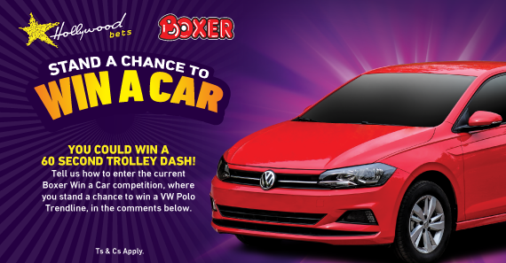 Win a Car SBN promotion – Win a 60 second trolley dash to the value of R1500!