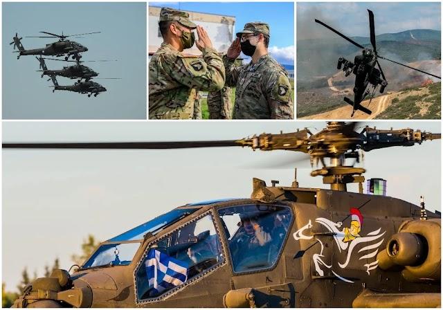 «Ψήφος εμπιστοσύνης» ΗΠΑ στην Ελλάδα: Apache και Black Hawk για συνεκπαίδευση με τις ΕΔ