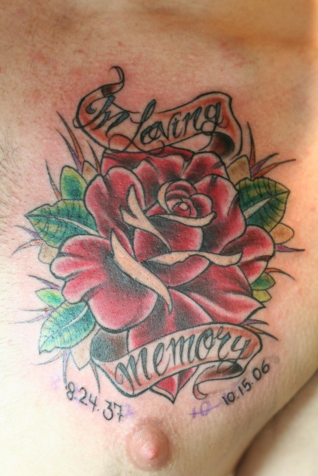 Corey Lyon Tattoos: Flower Zap
