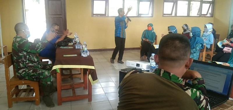 TMMD ke-108 ,Bati Bakti Sterdim 0622 /Kab.Sukabumi Dampingi Jalanya Penyuluhan Kesehatan Masyarakat