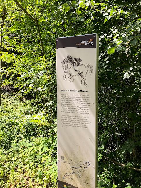 Historische Höhenweg von Bendern nach Schellenberg  Wandern Liechtenstein 03
