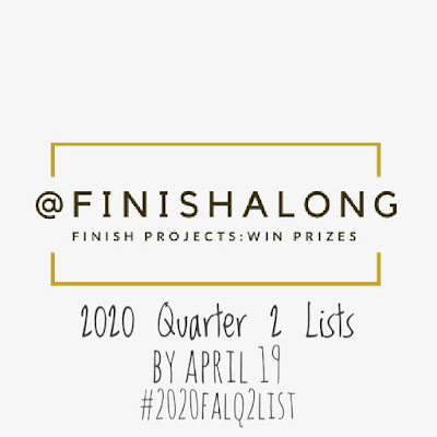 2020 Finish-A-Long Call For Q2 Lists on Thistle Thicket Studio. www.thistlethicketstudio.com