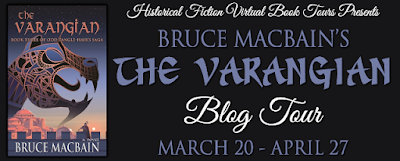 Author's Inspiration #BlogTour #giveaway ~ The Varangian #HistFic