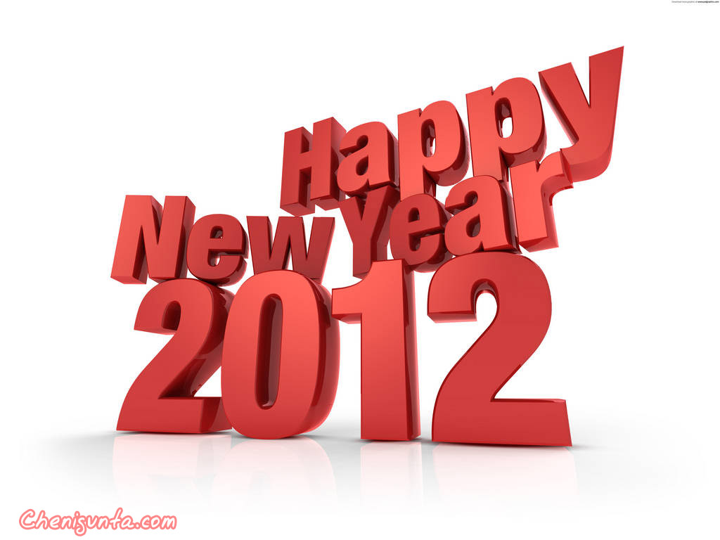 2012 New Year Greetings Amp Wallpapers