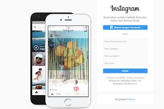 cara membobol akun Instagram orang lain lewat HP