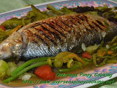 Dinengdeng with Inihaw na Bangus