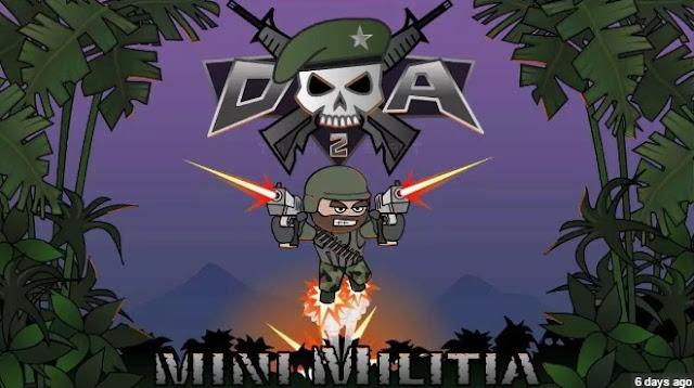 Screenshot Doodle Army 2 : Mini Militia Mod Apk