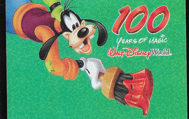 100 Years of Magic Goofy Walt Disney World Ticket